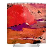 Abstract 695623 Shower Curtain