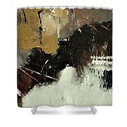 Abstract 698542 Shower Curtain