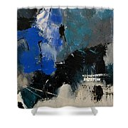 Abstract 699031 Shower Curtain