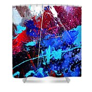 Abstract 71001 Shower Curtain
