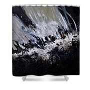 Abstract 7721202 Shower Curtain