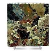 Abstract 7721901 Shower Curtain