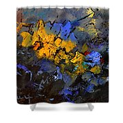 Abstract 795624 Shower Curtain