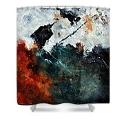 Abstract 881101 Shower Curtain