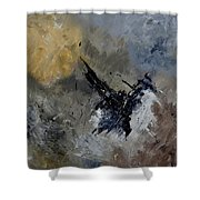 Abstract 88111102 Shower Curtain