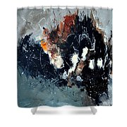 Abstract 8811114 Shower Curtain