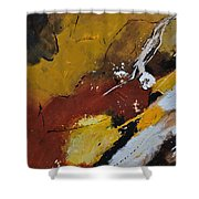 Abstract 88119011 Shower Curtain