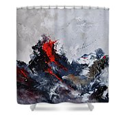 Abstract 8821013 Shower Curtain