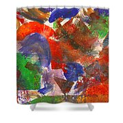 Abstract - Acrylic - Synthesis Shower Curtain