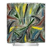 Abstract Art Fifteen Shower Curtain