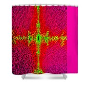 Abstract Art In 3d Shower Curtain