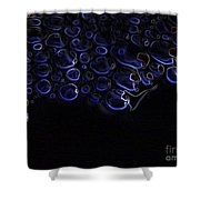 Abstract Art Series. Blue Fantasy. Shower Curtain