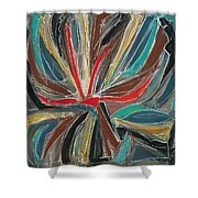 Abstract Art Sixteen Shower Curtain