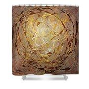 Abstract Art Twelve Shower Curtain
