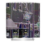 Abstract Coffee House Shower Curtain