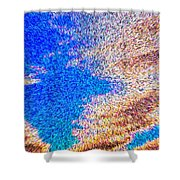 Abstract Dimensional Art Shower Curtain