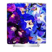 Abstract Floral 031112 Shower Curtain