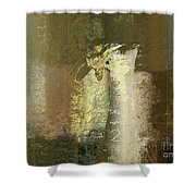 Abstract Floral 04v2g Shower Curtain by Variance Collections