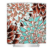 Abstract Flower 17 Shower Curtain