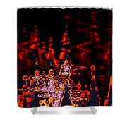 Abstract Fractals 1 Shower Curtain