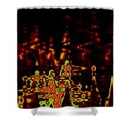 Abstract Fractals 2 Shower Curtain