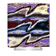 Abstract Fusion 101 Shower Curtain