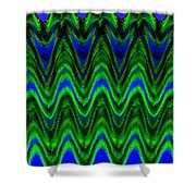Abstract Fusion 125 Shower Curtain