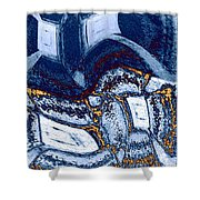 Abstract Fusion 137 Shower Curtain