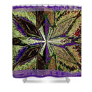 Abstract Fusion 145 Shower Curtain