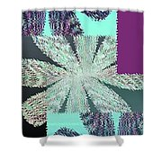 Abstract Fusion 149 Shower Curtain