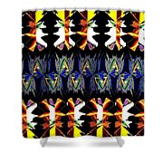 Abstract Fusion 156  Shower Curtain