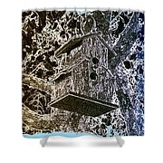 Abstract Fusion 160 Shower Curtain