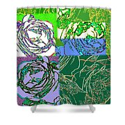 Abstract Fusion 42 Shower Curtain
