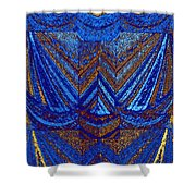 Abstract Fusion 59 Shower Curtain