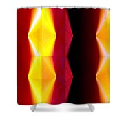 Abstract Fusion 82 Shower Curtain