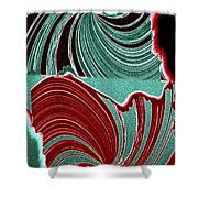 Abstract Fusion 88 Shower Curtain