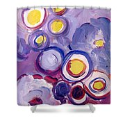 Abstract I Shower Curtain by Patricia Awapara