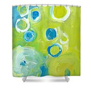 Abstract IIII Shower Curtain