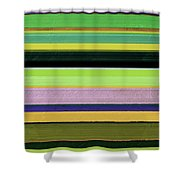 Abstract Landscape - The Highway Series Lll Shower Curtain