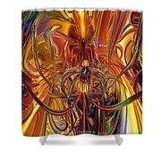 Abstract Medusa Fx   Shower Curtain