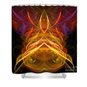 Abstract Ninety-five Shower Curtain