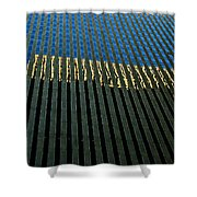 Abstract Of Windows Shower Curtain