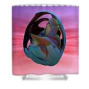Abstract Sculpture 042412 Shower Curtain