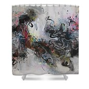 Abstract Seascape00098 Shower Curtain