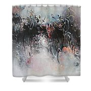 Abstract Seascape00100 Shower Curtain