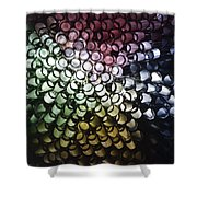 Abstract Straws Shower Curtain