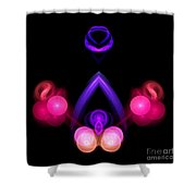 Abstract Twenty Shower Curtain