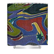 Abstract Xii Shower Curtain