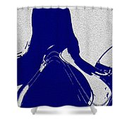 Abstract Ying Life Shower Curtain
