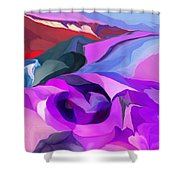 Abstract041712 Shower Curtain